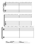 Music Theory worksheet