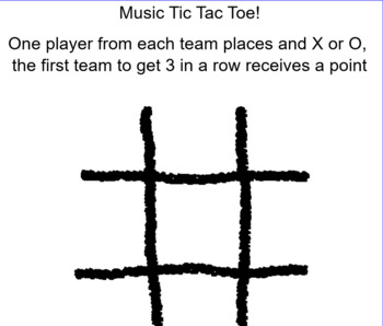 Music Tic Tac Toe Board