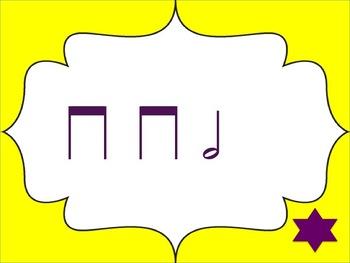 Music Tic Tac Toe Game: Half Note
