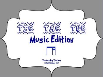 Music Tic Tac Toe Game: Ti-Tika