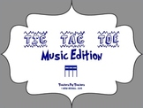 Music Tic Tac Toe Game: Tika-Tika