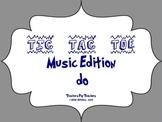 Music Tic Tac Toe Game: do
