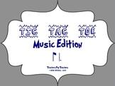 Music Tic Tac Toe Game: ti-tom