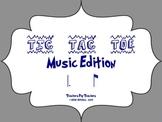 Music Tic Tac Toe Game: tom-ti