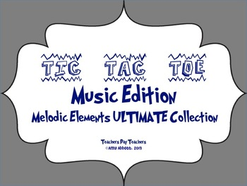 Music Tic Tac Toe Games, Melodic Collection