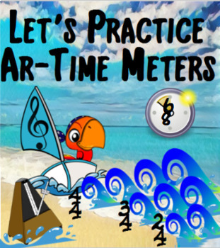 Music Fundamentals - Time Meters - Elementary Studies With Pitch The Pirate