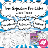 60 Time Signature Worksheets, Printables, Games