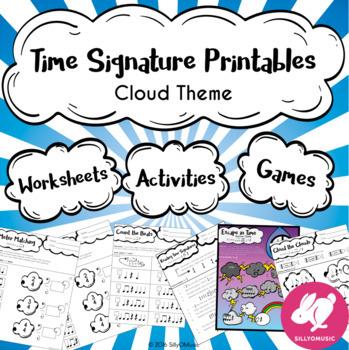 60 Time Signature Worksheets, Printables, Games