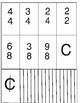 Music: Time Signatures - Rhythm Layout