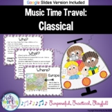 Music History for Elementary:  Classical Music Bulletin Board and Video Links
