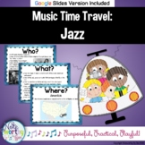 Music Time Travel:  Jazz {Bulletin Board and Video Links}