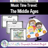 Music History for Elementary:  The Middle Ages Bulletin Board and Video Links