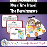 Music Time Travel:  The Renaissance {Bulletin Board and Vi