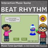 Beat Rhythm Elementary Music Game  ~ Interactive Music Game {gumball}