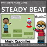 Steady Beat or Not ~ Music Opposite Interactive Music Game {gumball}