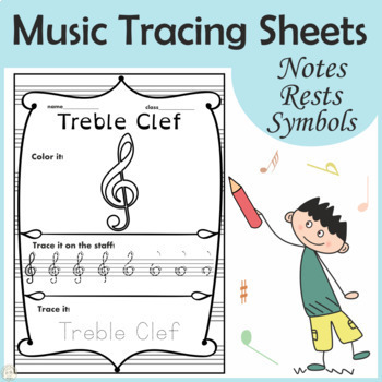 Music Trace and Color sheets
