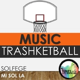 Music Trashketball: Solfege (Mi Sol La)