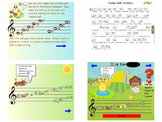 Music: Treble Clef Critters Notebook File