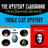 Music: Treble Clef Mystery | The Mystery Classroom (Distance Learning)