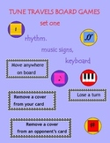 Music Tune Travels Board Games Rhythm, Signs, Keyboard