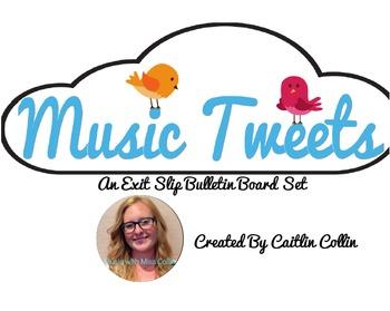 Music Tweet Bulletin Board Set