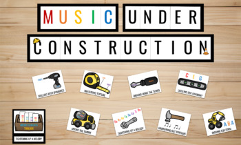 Music Under Construction Bulletin Board