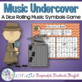 Music Undercover:  A Dice Rolling Game to Identify Notes and Music Symbols