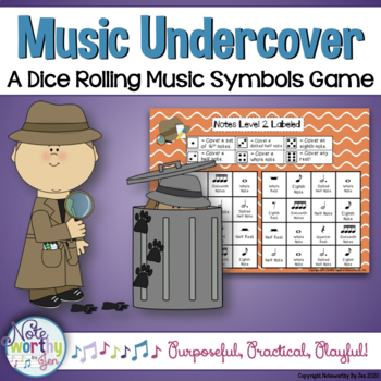 Music Undercover:  A Dice Rolling Game to Identify Notes a