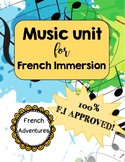 Music Activities for French Immersion