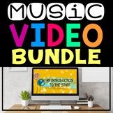 Music Videos (Virtual Music Lessons for Google Classroom™,