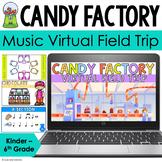 Music Virtual Field Trip Candy Factory