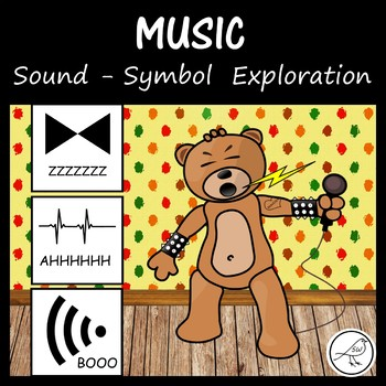 Music - vocal exploration with symbols