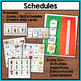Music Visual Supports and Schedules for Special Education and Autism