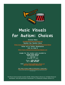 Music Visuals for Autism: Choices