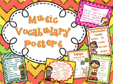Music Vocabulary Posters - Bundle of ALL 11 Posters