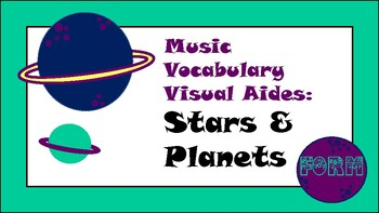 Music Mobile: Stars & Planets