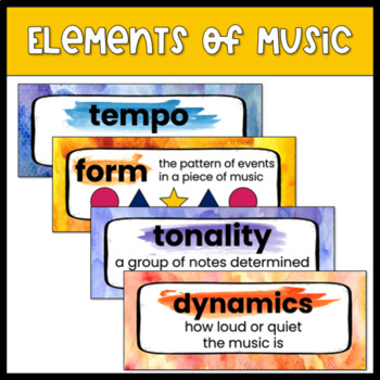 Music Vocabulary Word Wall