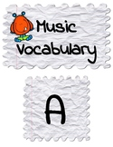 Music Vocabulary (Word Wall)   Music Monsters