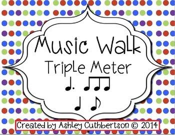 Music Walk:  Triple Meter