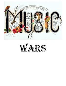 Music Wars...Card Game