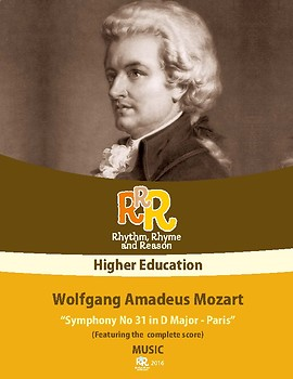 Music - Wolfgang Amadeus Mozart - Symphony #31 in D major (Complete Score)