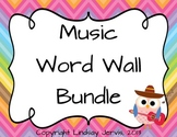 Music Word Wall Bundle