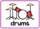 Music Vocabulary Word Wall Cards (set of 17) - Full Color Version