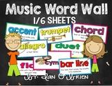 Music Word Wall Kit