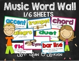 Music Word Wall Kit