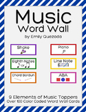 Music Word Wall Pack