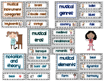 Music Word Wall Words