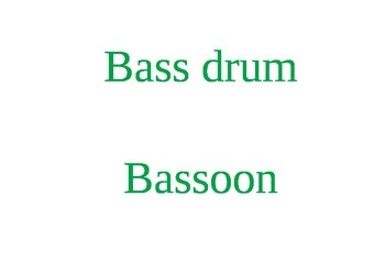 Music Words for your Music Classroom. Language: English.