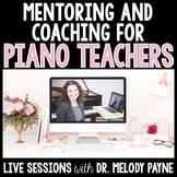 Consulting Session/Piano Pedagogy Training - Live via Skype