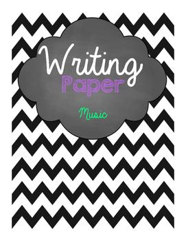Music Writing Paper